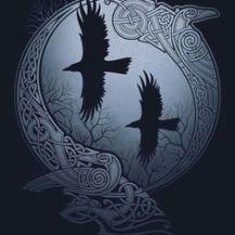 Huginn Muninn viking