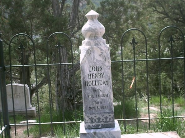 In 1887, prematurely gray and badly ailing, Holliday made his way to the Hotel Glenwood, near the hot springs of Glenwood Springs, Colorado.