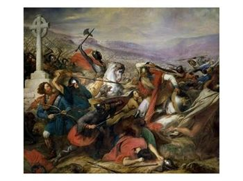 The Battle of Poitiers 25th October 732A.D.