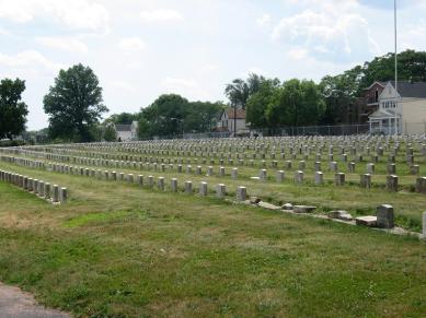 Fairmont Cemetery Civil War Graves