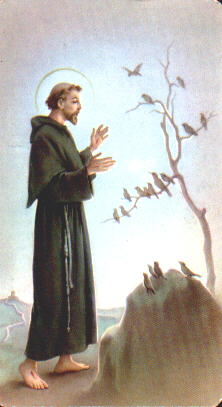 """Saint Francis St. Francis [of Assisi], if we consider some earthly creatures as 'brother' and 'sister,' why couldn't we also talk of an 'extraterrestrial brother'? He would also belong to creation."""""""