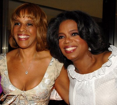 Gayle King With Lesbo Partner Oprah