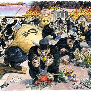 Rothschild Greed