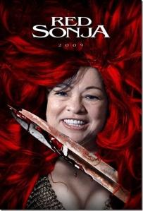 Red Sonja - Sonia Sotomayor