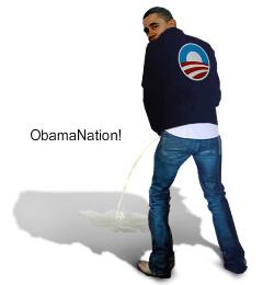 Obama - Peeing on US