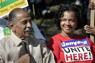 Conyers With Wife