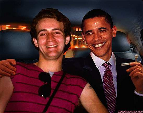 LARRY SINCLAIR & BARRY SOETORO