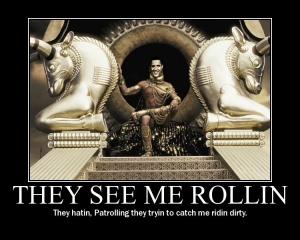 Persian King Obama