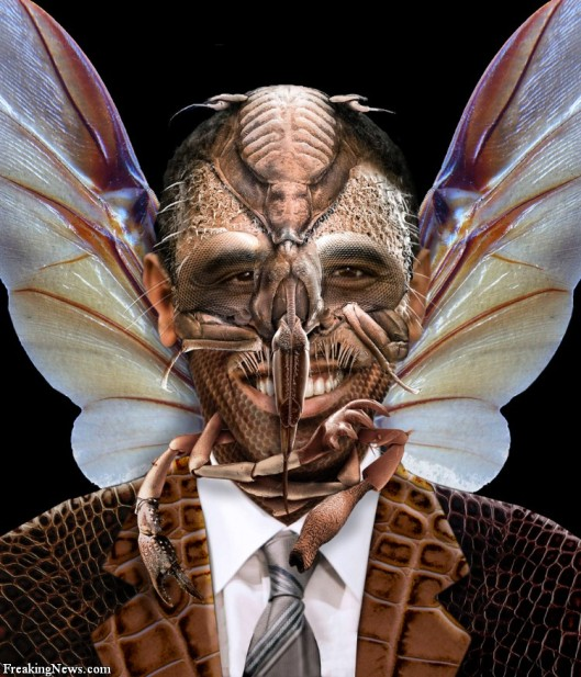 Stool Puppet/Moth Man For George Soros Housing Bubble Exploitation - Barry Soetoro All Painted Up From Kenya And Will Be Himself Expended When The Heat Gets Too Hot