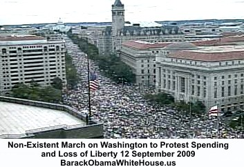 Tea Party Of +2,000,000 Americans March On Corrupted Washington D.C.