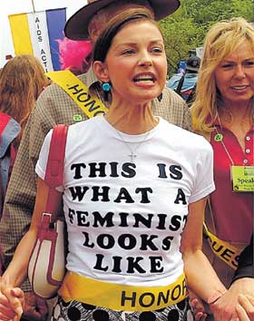POST MENOPAUSAL & SEXUALLY DEPRAVED ASHLEY JUDD - MARCHES TO THE TUNE OF ILLUMINATI INDUCED DYSFUNCTION