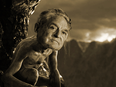 SOCIOPATH GEORGE SOROS. Lord of the Rings: The Return of the King (2003) Gollum