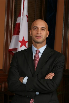 ... Piece Of Shit Adrian Fenty Trades Off Charity For Anal Masturbators!