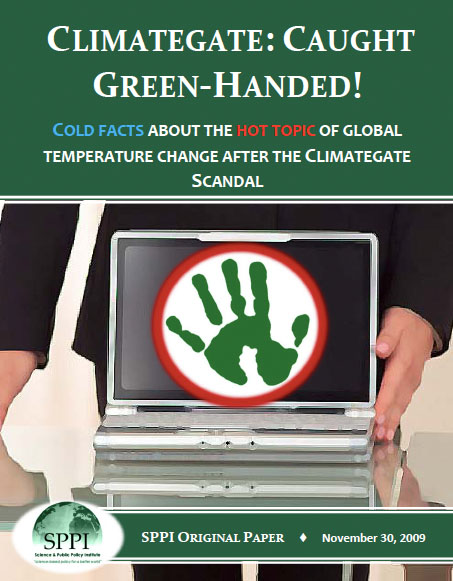Monckton-Caught Green-Handed Climategate Scandal