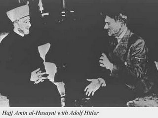 Islamic Fascist Mufti Hussein Joins Forces Against The Jewish people With British trained Adolph Hitler! Once In Power, Hitler rebuffed Britain as did India & Israel after statehood was established. British don't forget things like having their highly taxed muslim tea being thrown into the harbor (American Revolution)