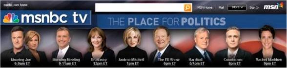 MSNBC White Supremacists Employ No Blacks!