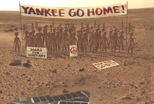 Life on Mars, no question about it, they have been there all the time, just fed up with NASA.jpg