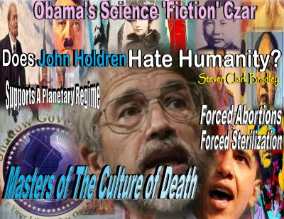 Masters of the Culture of Death- - Czar John Holdren Pic