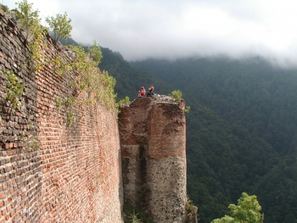 The Remnants Of Dracula's Real Castle (Poienari Castle) - (Bran Castle) Is Not Dracula's Castle But Only For Tourism