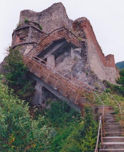 Poienari Castle ~ The Real Castle Dracula.