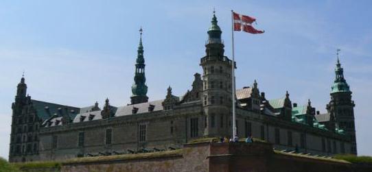 Kronborg Castle Helsingør/Elsinore, Denmark