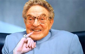 Felon George Soros