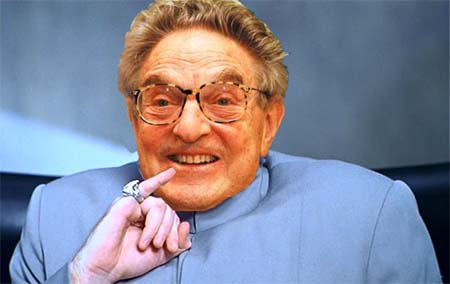 Felon George Soros
