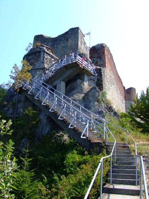 Dracula's Poienari Castle
