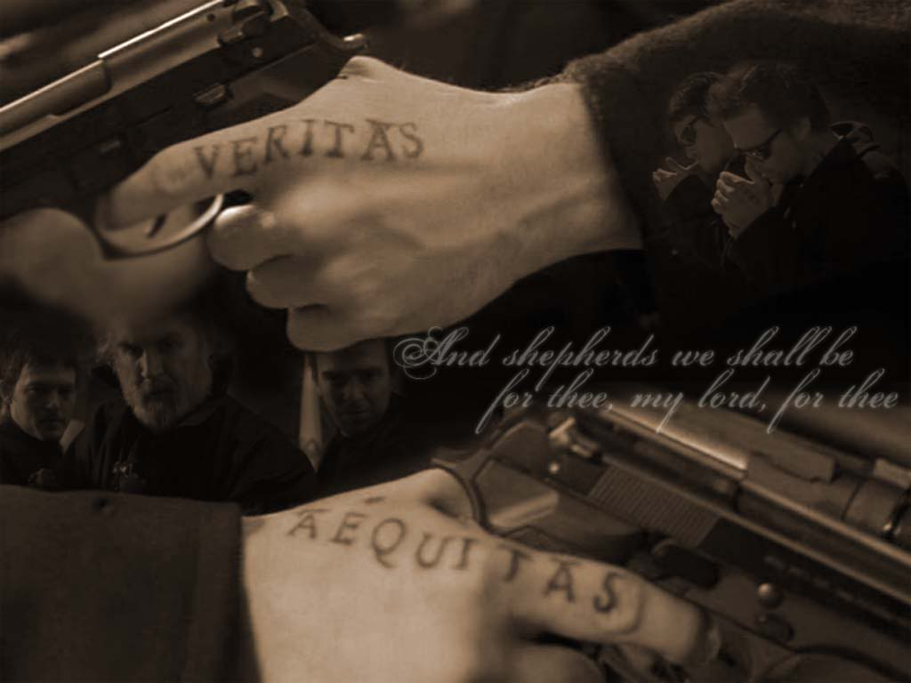 Boondock saints veritas aequitas political vel craft for Veritas aequitas tattoos