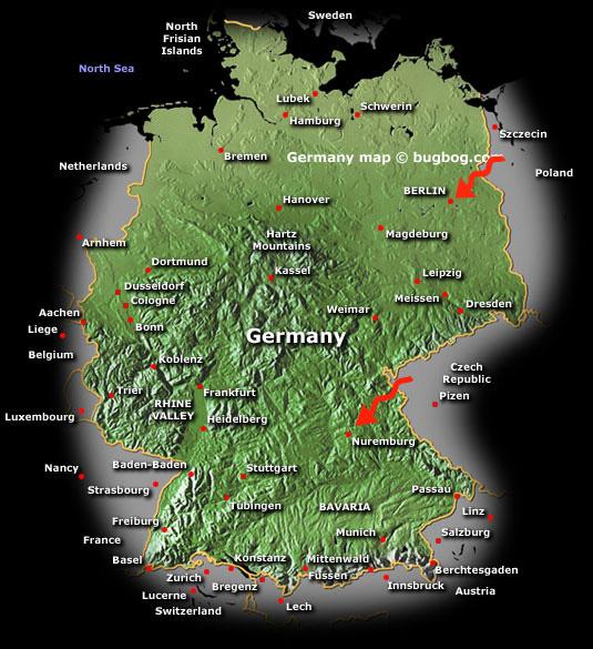 germany arrows