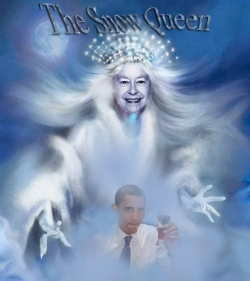 Snow queen obama