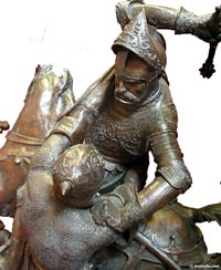 Frankish King Charles Martel