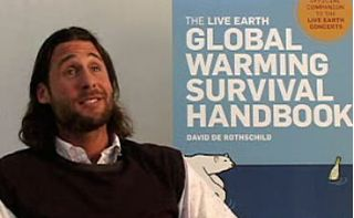 David Rothschild ~ Rothschild Poster Boy For Convincing World That Air Causes Global Meltdown ~ Who Profits Through the Chicago Carbon Credits? Thats Right Rothschild--Well Ain't That Special.