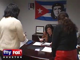 Che Guevara At Obama's Houston Campaign Headquarters
