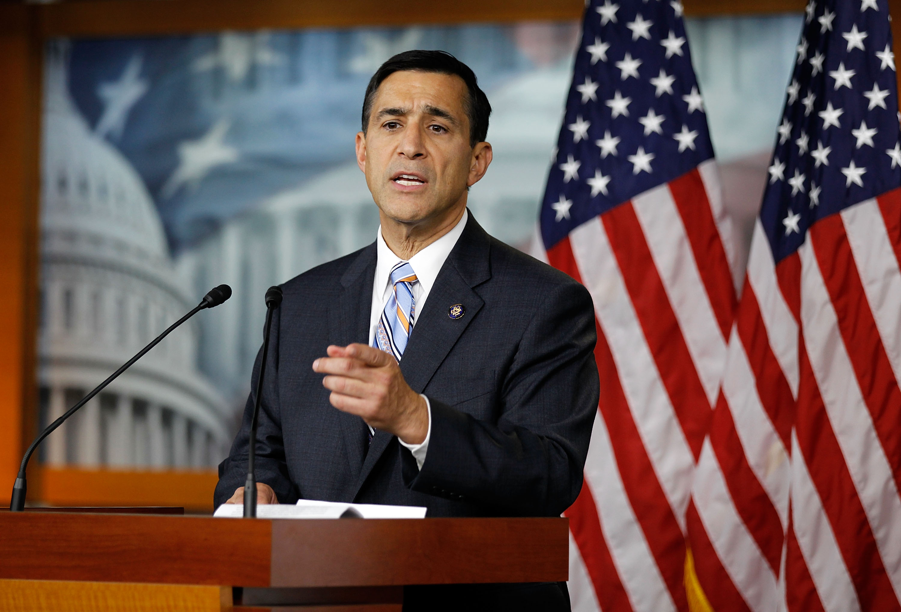 Rep. Issa (R-CA) Address Bill Clinton's Contact With Rep. Joe Sestak
