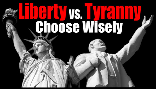 Freedom Or Follow Tyranny As Did Lenin Who Was Financed By Rothschild In Converting Russia Into The Socialist State Of USSR?