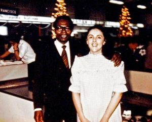 Barack Obama Sr. & Ann Dunham: Biological Parents Of Barack Obama Jr. Who Later Became Barry Soetoro when nationalized into Indonesia and adopted By his step father Lolo Soetoro.