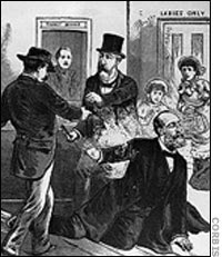 President Garfield MURDERED