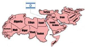 MAP_iranandISRAELImage1