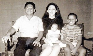 Barry's Indonesian Family. Lolo Soetoro, Ann Dunham, Maya Soetoro, & Barry Soetoro.