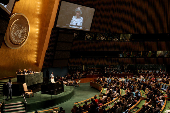 Obama's Queen: Telling The United Nations Where Its At.