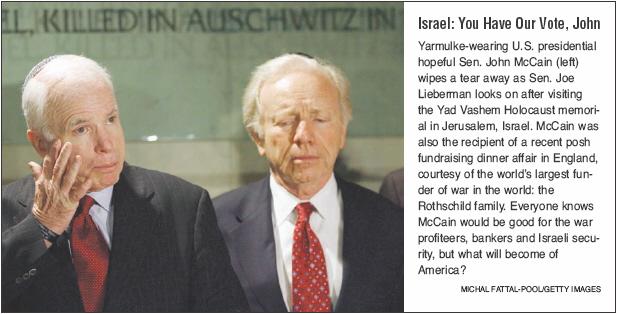 Rothschild Operative John McCain