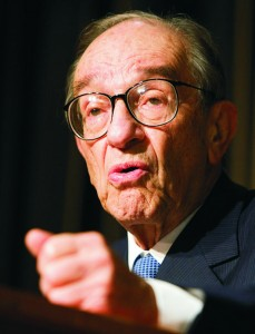 Alan Greenspan Age 87 2013
