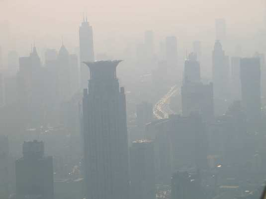 Shanghai Smog: China is now placing 25,000 NEW automobiles onto their highways each and everyday!