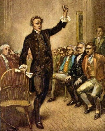 Only Two Parties In The U.S., Those Who Obey The Constitution And Those Who Do Not! Photo Of Patrick Henry