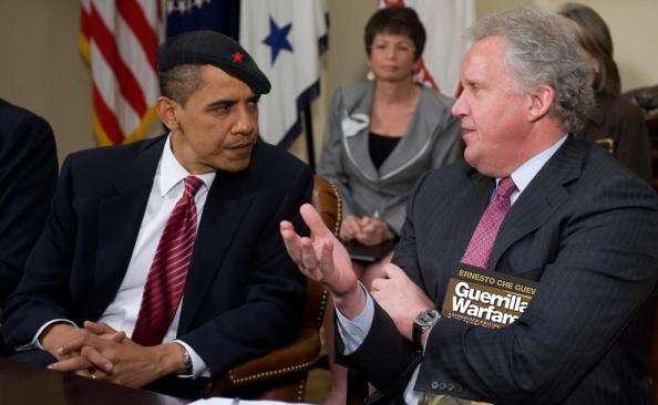 Obama, Jarrett, & G.E.'s Immelt also owner of MSM.