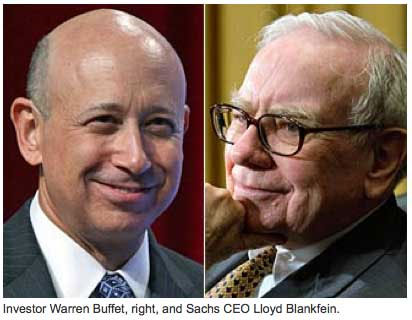 Goldman Sachs & Warren Buffet