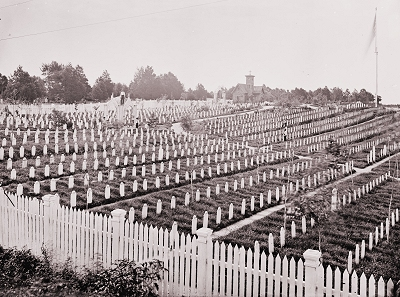 Civil War Soldier's Cemetery ~ Those who gave all in freeing The Black Slave!