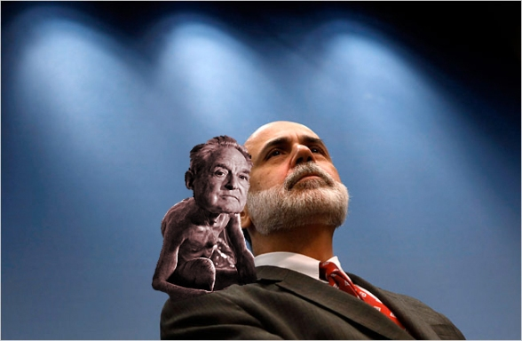 Soros ~ Bernanke: I Dont Know Which Foreign Banks Were Given Half a Trillion.