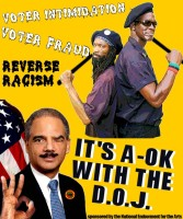 Eric Holder-Reverse Racism A-OK with the Department of Justice